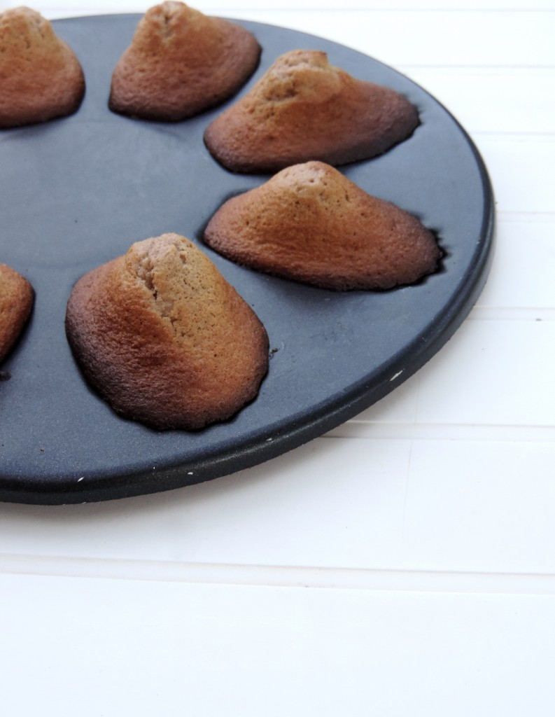 madeleines pralinées